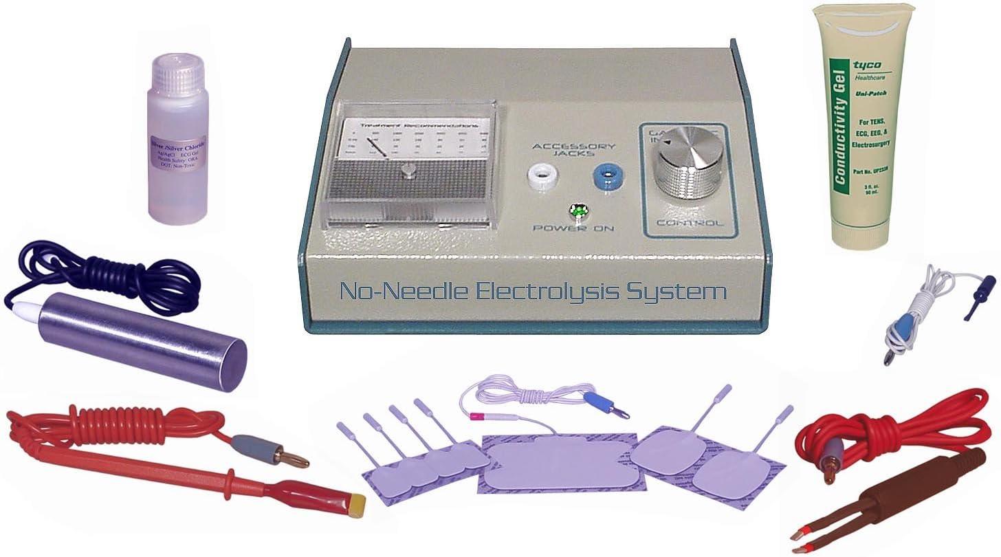 AVX400 Salon Quality System transdermalnej elektrolizy do trwałego usuwania owłosienia