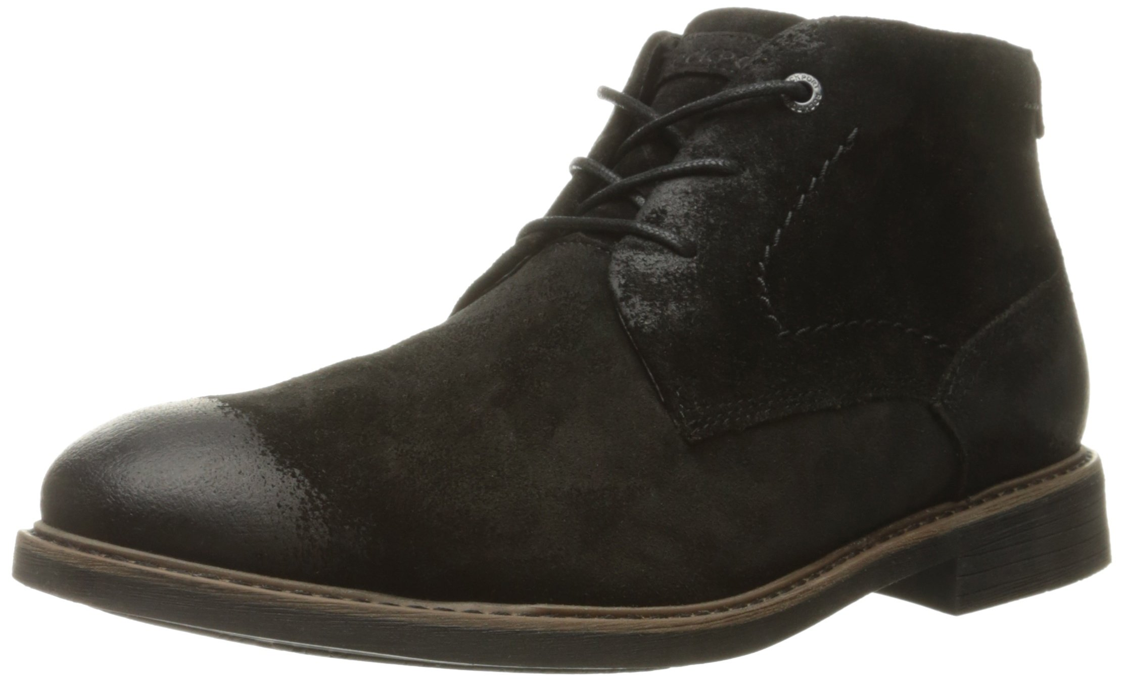 Rockport Men's Classic Break Chukka Boot- Black Suede-12 M