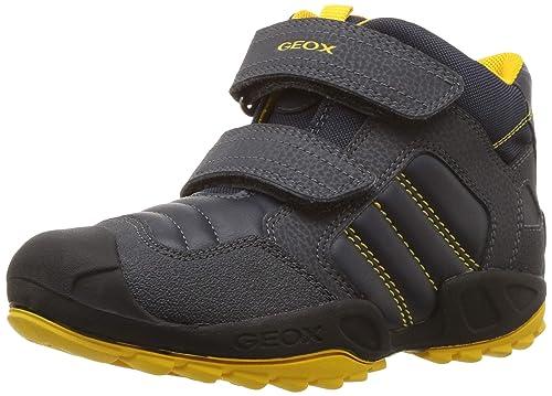 Geox J New Savage Boy C, Sneaker a Collo Alto Bambino