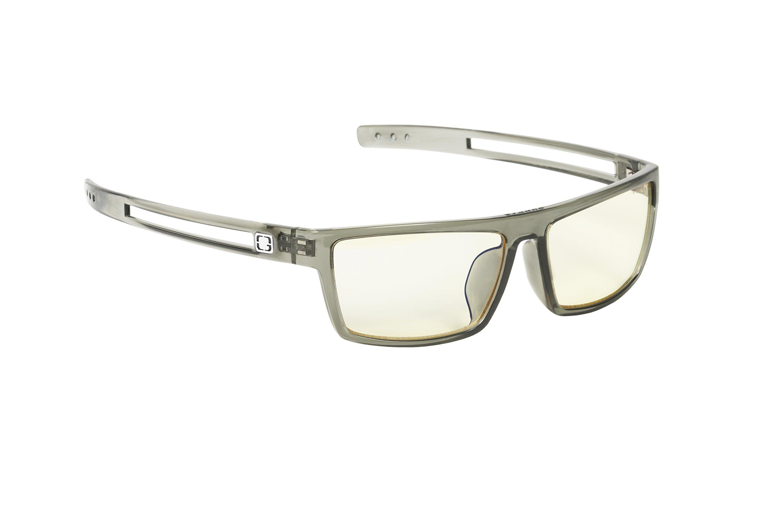 Gunnar Optiks Valve Computer Gaming Glasses - Block Blue Light, Anti-Glare and Minimize Digital Eye Strain - Prevent Headaches, Sleep Better, Reduce Eye Fatigue, Smoke - Not Machine Specific