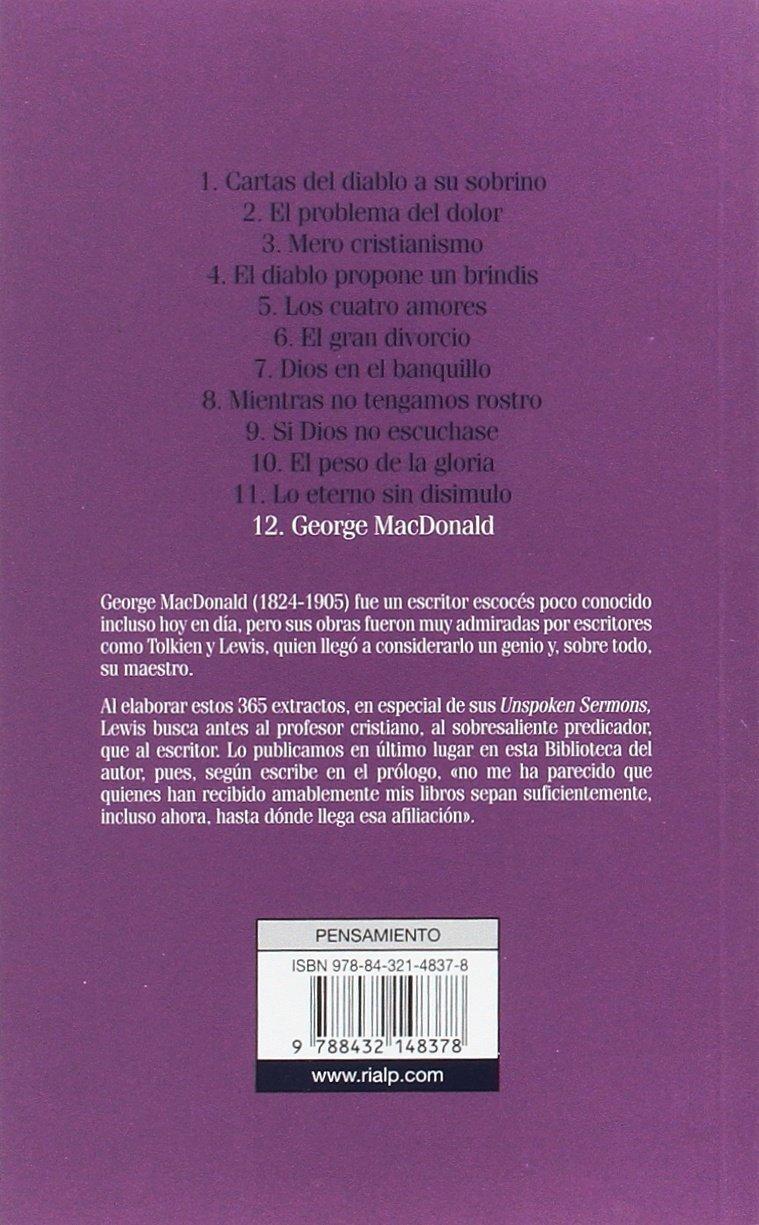 George MacDonald (Bibilioteca C. S. Lewis): Amazon.es: Clive ...