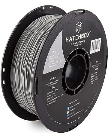 1kg Carrete ELEGOO PLA Filamento de Impresora 3D 1.75mm-Negro Precisi/ón Dimensional +//- 0.03 mm