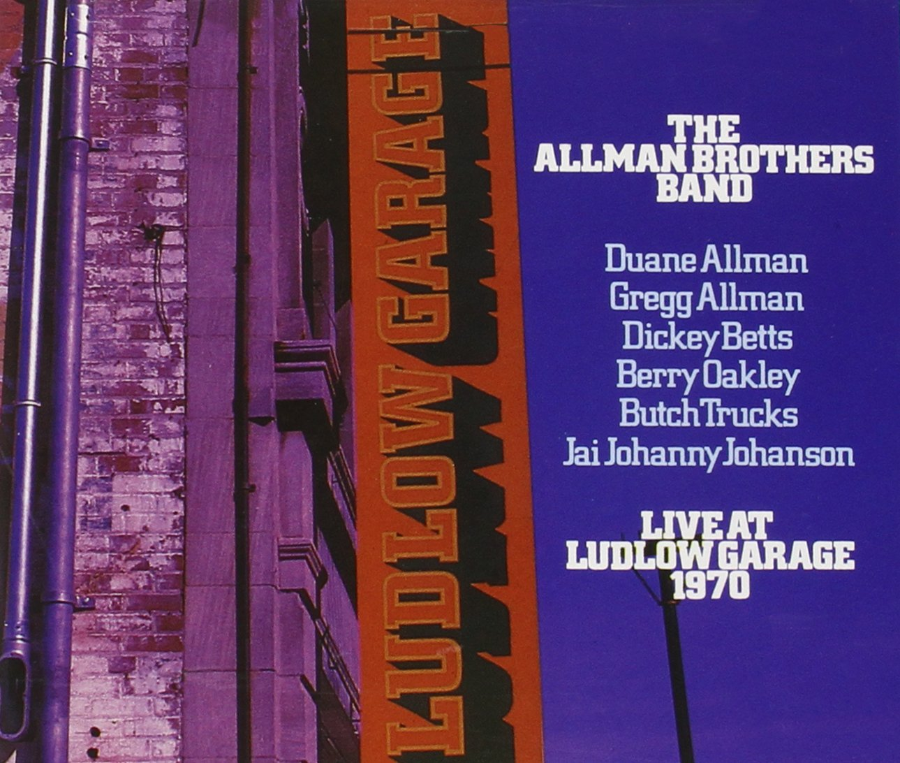 the allman brothers band live at ludlow garage cd the allman brothers band live at ludlow garage 1970 2 cd com music