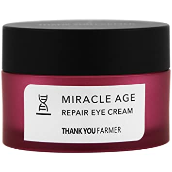 a946c018e908 Amazon.com: Thank You Farmer Miracle Age Repair Eye Cream 70 oz 20 g ...