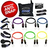 Bodylastics Anti-Snap, Stackable MAX XT Resistance Bands Sets. These Leading Exercise Band Gyms include 6 of Our Best Quality Anti-Snap Exercise Tubes, Handles, Door Anchor, Ankle Straps, Carry Bag