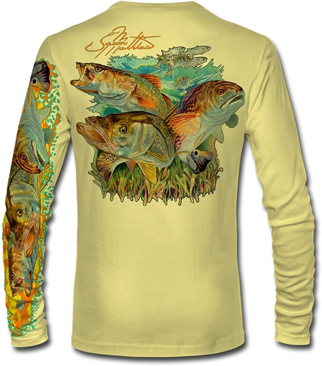Jason Mathias Inshore Slam LS High Performance Long Sleeve T-Shirt
