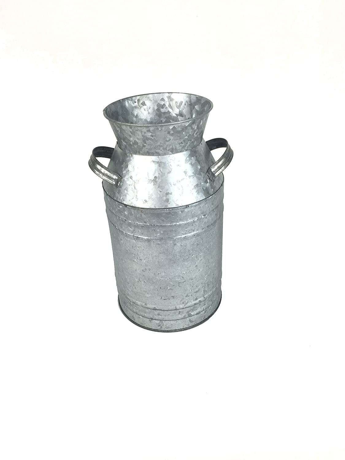 Craft Outlet T1477 11.5 Galvanized Tin Milk Can Craft Outlet Inc