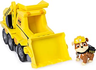Paw Patrol Ultimate Rescue - Rubble's Ultimate Rescue Bulldozer with Moving Scoop and Lift-up Dump Bed, for Ages 3 and Up