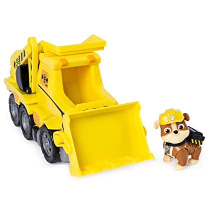 amazon com paw patrol ultimate rescue rubble s ultimate rescue