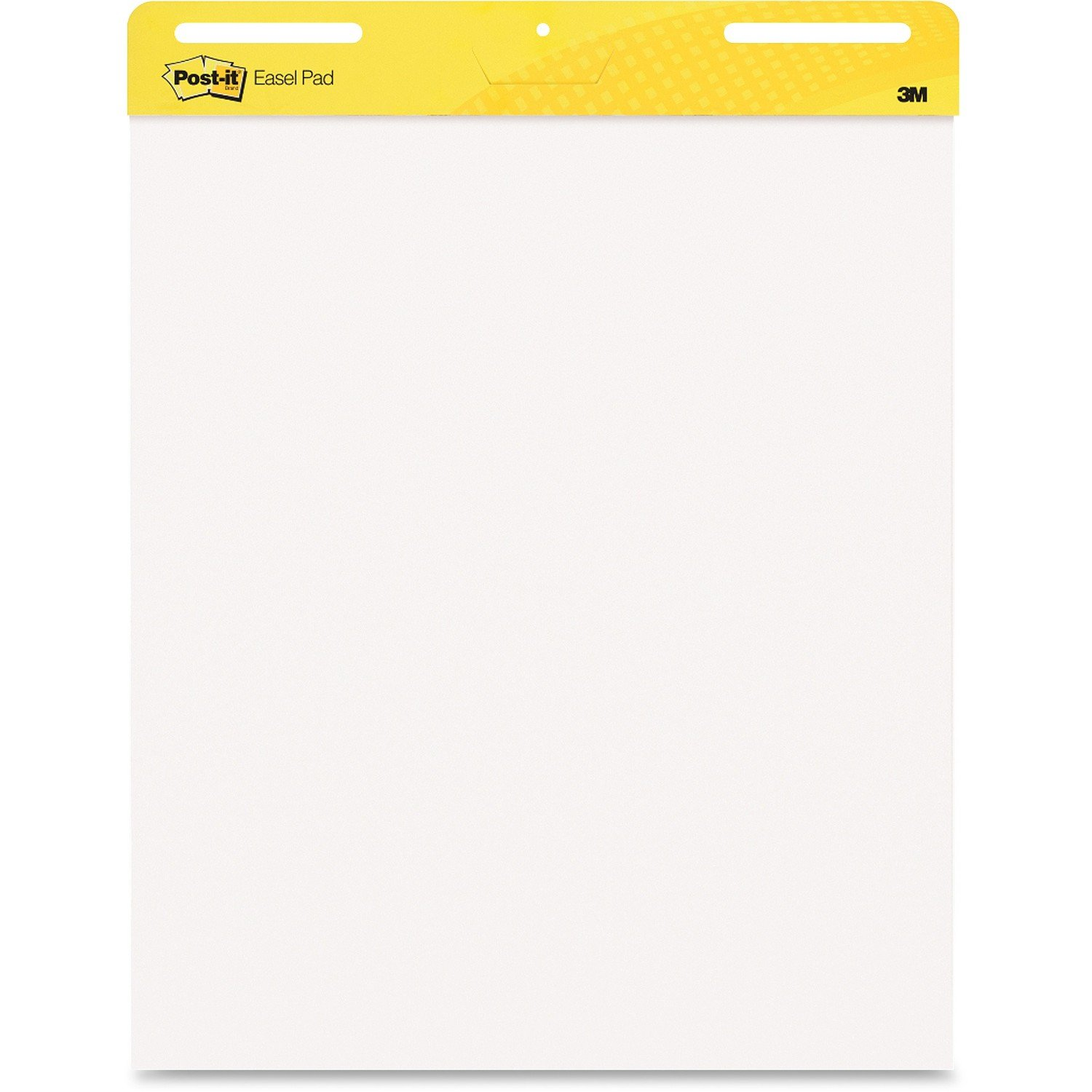 Easel Pad, Plain, White, 25 in. x 30 in. by Post-it