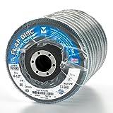 Mercer Industries 262080 Zirconia Flap Disc, High