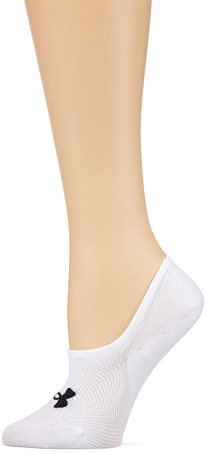 Under Armour Essential Ultra Low Liner Calcetines, Mujer, Blanco (101), M: Amazon.es: Deportes y aire libre