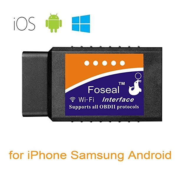 Foseal WIFI OBD2 Toyota Scan Tool for iOS & Android