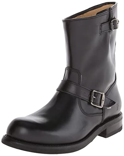 FRYE Men's Sutton Engineer Boot,Black,8 ...
