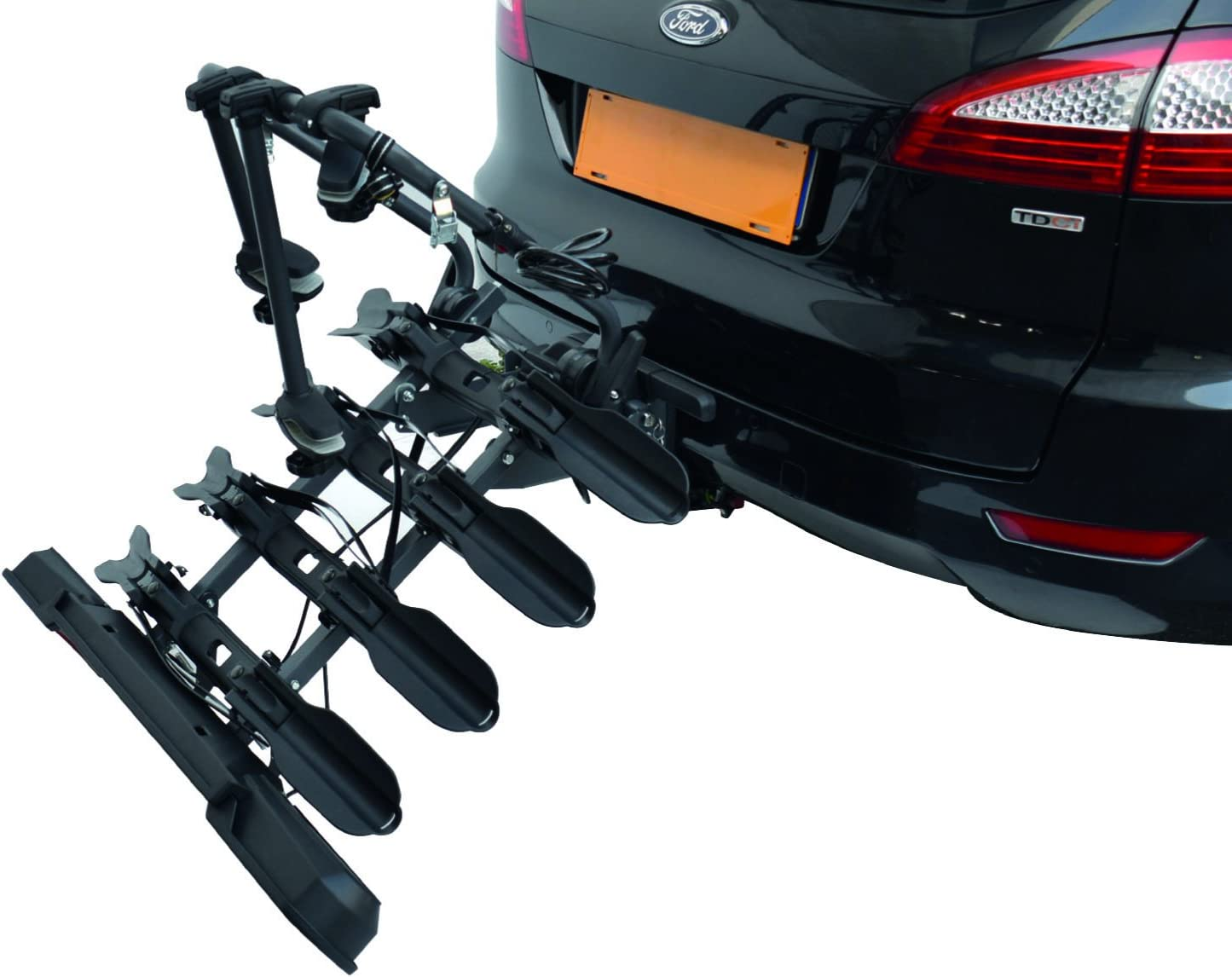 Peruzzo Pure Instinct Rear Car Boot Cycle Carrier 3 Bike Rack Holder Bicycle