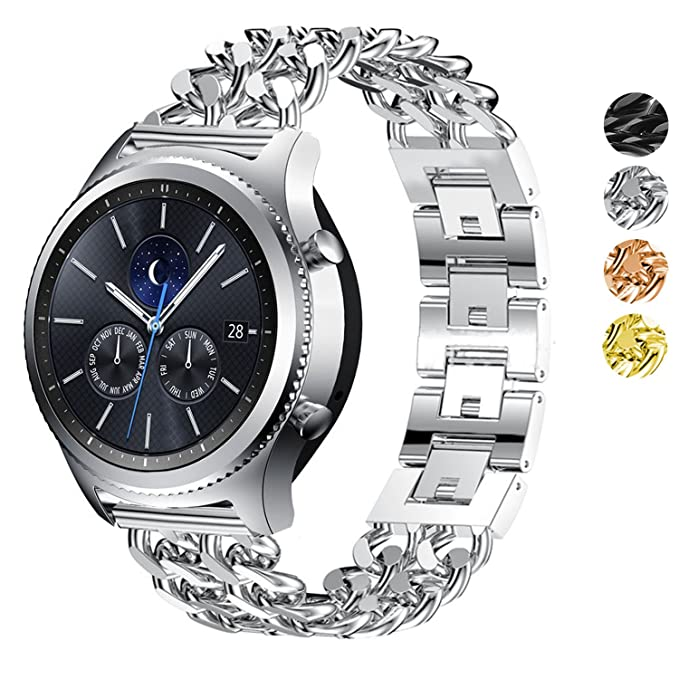 DELELE Samsung Gear S3 Frontier/Classic Watch Band - Correa ...