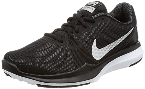 36077f04e41871 Women s Nike In-Season 7 Training Shoe Black Metallic Silver Anthracite  Size 7