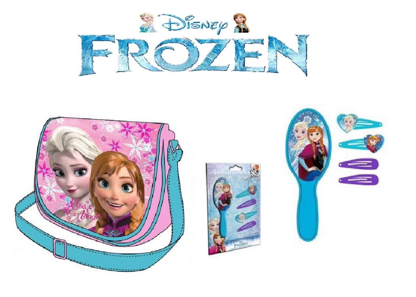 Disney Bolsa de Hombro Frozen + adorno para el cabello ...