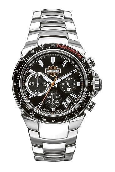 Para De HombreCorrea 78b113 Davidson Reloj Harley Cuarzo 0P8wkOn