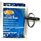 Hoover Part#4010100Y - (9 Type Y bags & (2) 38528-033 belts)