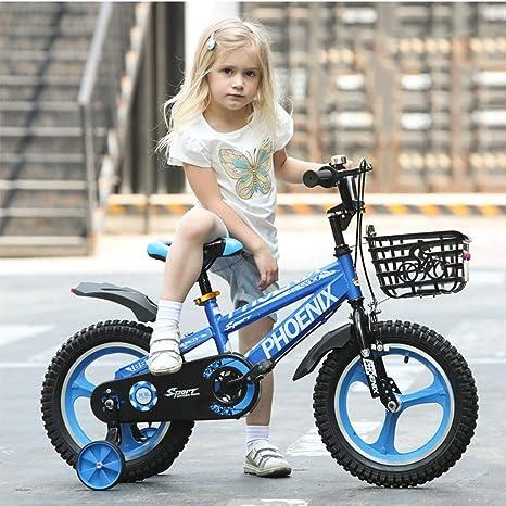 Bxiao Bicicleta con Marco de Diamante para niños, Bicicleta de 2 ...