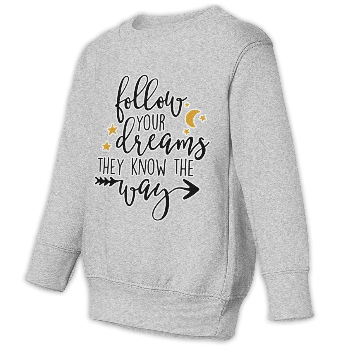 NMDJC CCQ Follow Your Dreams Baby Sweatshirt Lovely Kids Hoodies Cotton Outfits