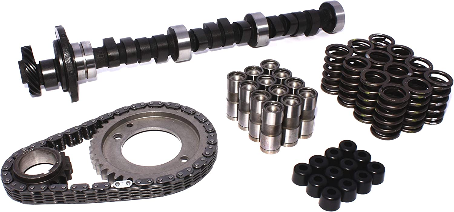 COMP Cams K69-235-4 High Energy 212//212 Hydraulic Flat K-Kit for Buick 181-252 Even Fire V6