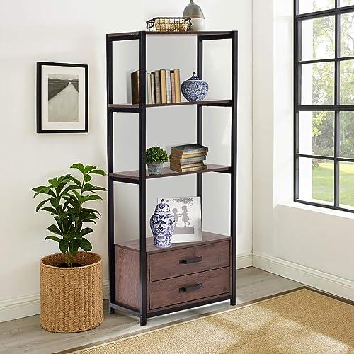 Industrial Bookshelf Bookcase