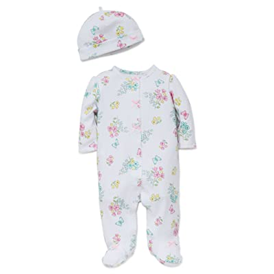 Little Me Baby Girls' Newborn Footie