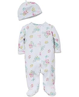 01e26187dae8 Amazon.com  Little Me Girls  Footie  Clothing