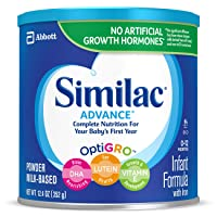 Similac Advance Infant Formula with Iron, Baby Formula, Powder, 12.4 oz (Pack of 6)
