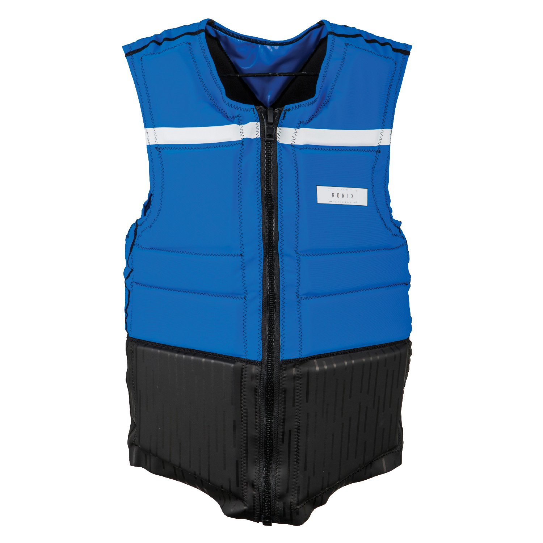 Ronix Parks NCGA Impact Vest Blue/Wht (2018)-medium by RONIX