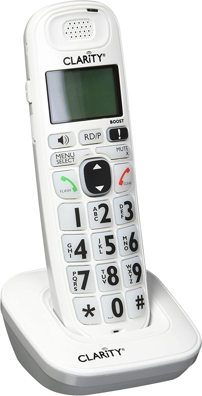 Clarity D704HS Moderate Hearing Loss Cordless Extension Handset (Base Not Included)