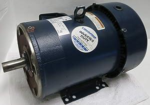 Marathon 0386 5HP Motor JVK 184TTFR4340AN L 208-230/460V 1745RPM 184TC TFR