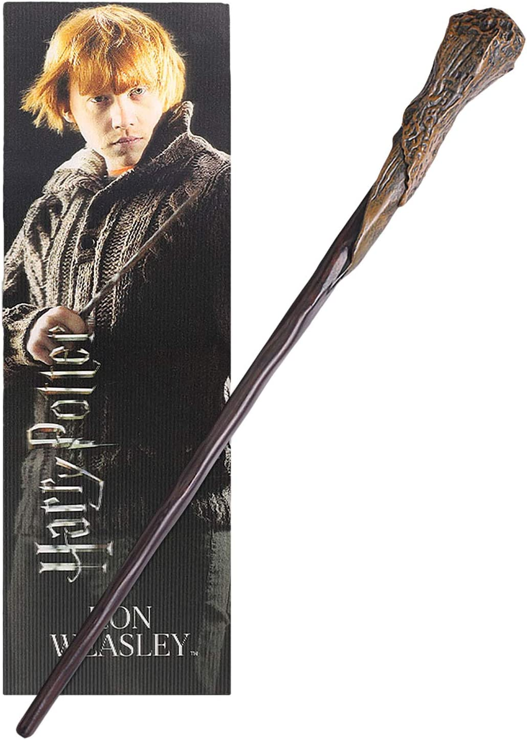The Noble Collection Ron Weasley PVC Wand y Prismatic Bookmark