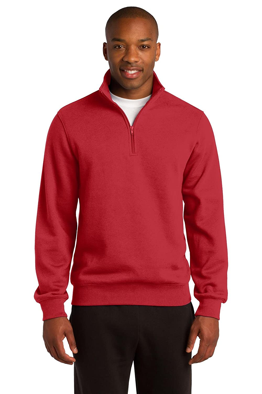 Sport-Tek Men's Tall 1/4 Zip Sweatshirt