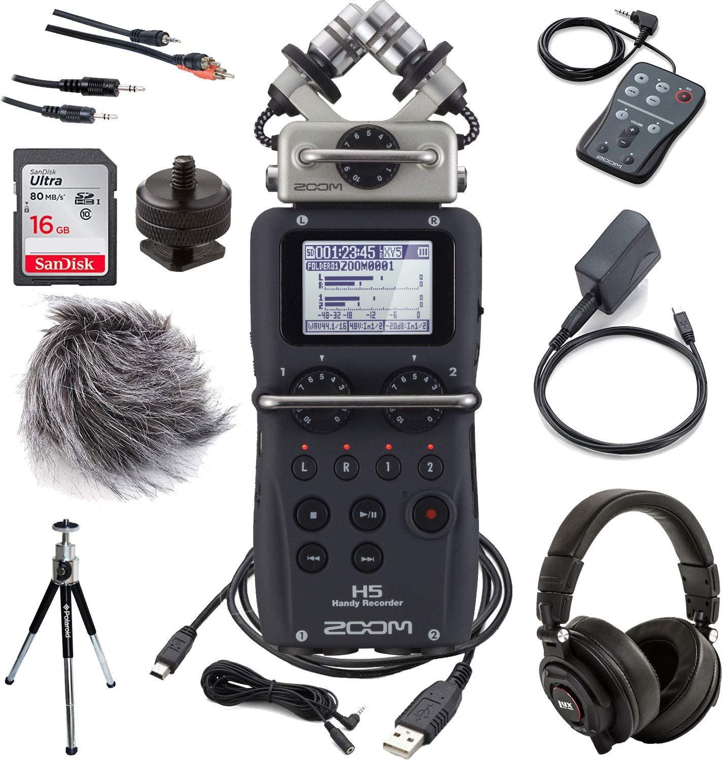 Zoom Aph 5 Portable Recorder Musical Instruments