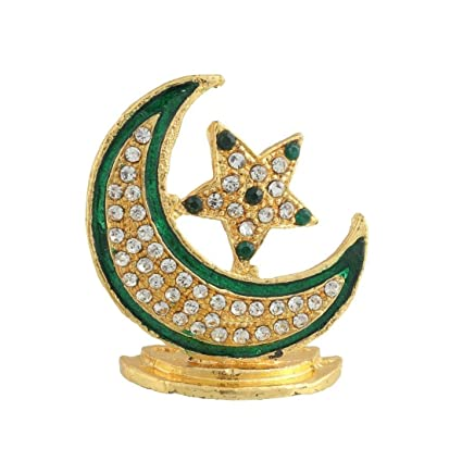 Buy Gct Islamic Religious Symbol Chand Tara Idol Crescent Moon
