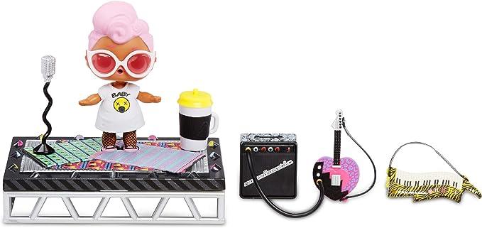 L.O.L. Surprise! 564935E7C Furniture Music Festival with Grunge Grrrl & 10+ Surprises, Multi,MGA Entertainment UK Ltd,564935E7C