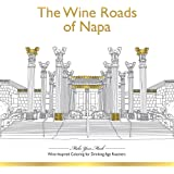 Wine-inspired Coloring Book for Drinking-Age Roamers (Make Your Mark Coloring Books)