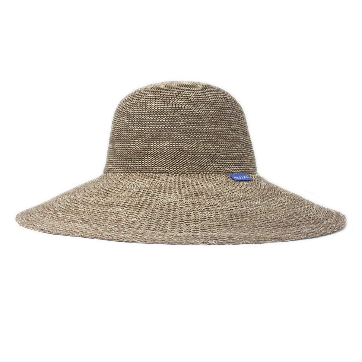 359c22fb3 Wallaroo Women's Victoria Diva Sun Hat - Packable Straw Hat (Mixed ...