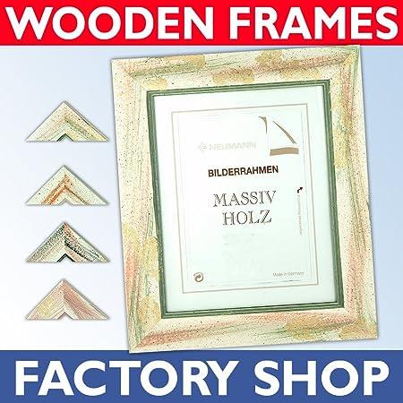 Wooden-frame 19.5x27.5 ins\