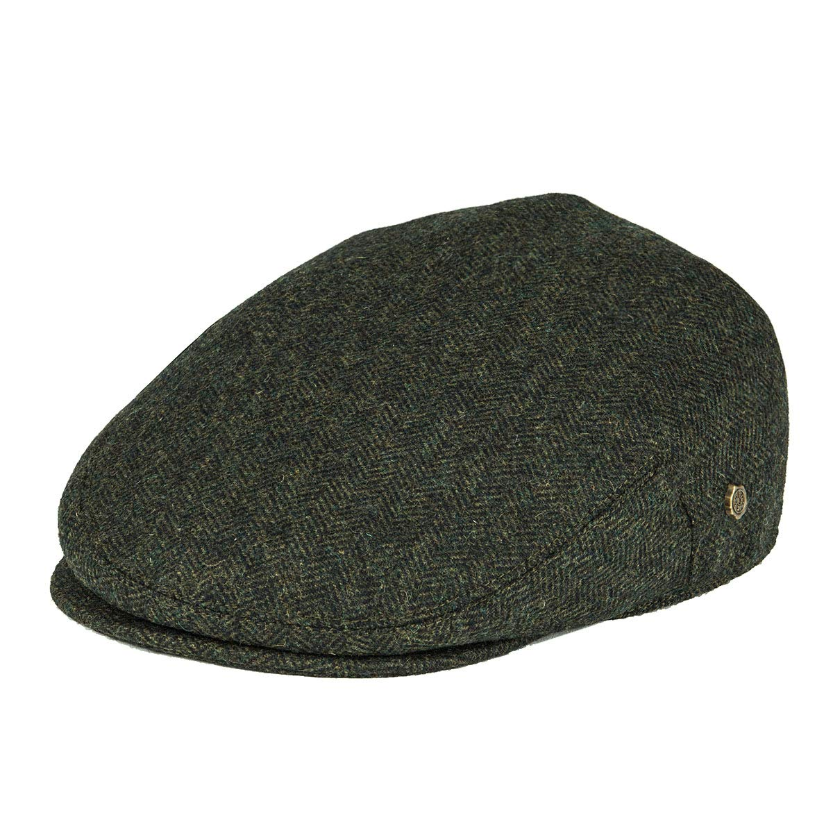 e38ed684f4f VOBOOM Men s Herringbone Flat Ivy Newsboy Hat Wool Blend Gatsby Cabbie Cap  at Amazon Men s Clothing store
