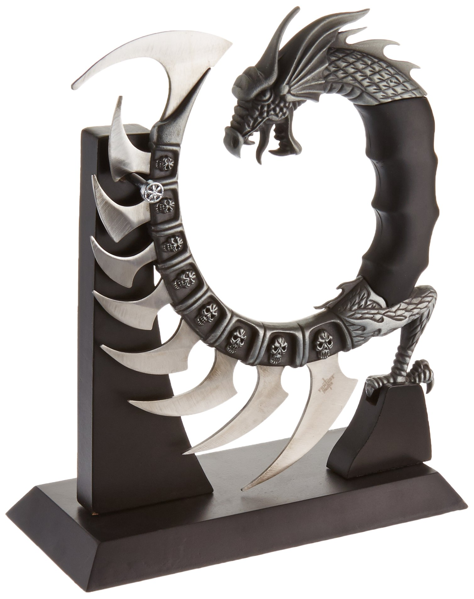 Fantasy Master Fm-571 Fantasy Dragon Show Blade With Stand 8-Inch Overall 2