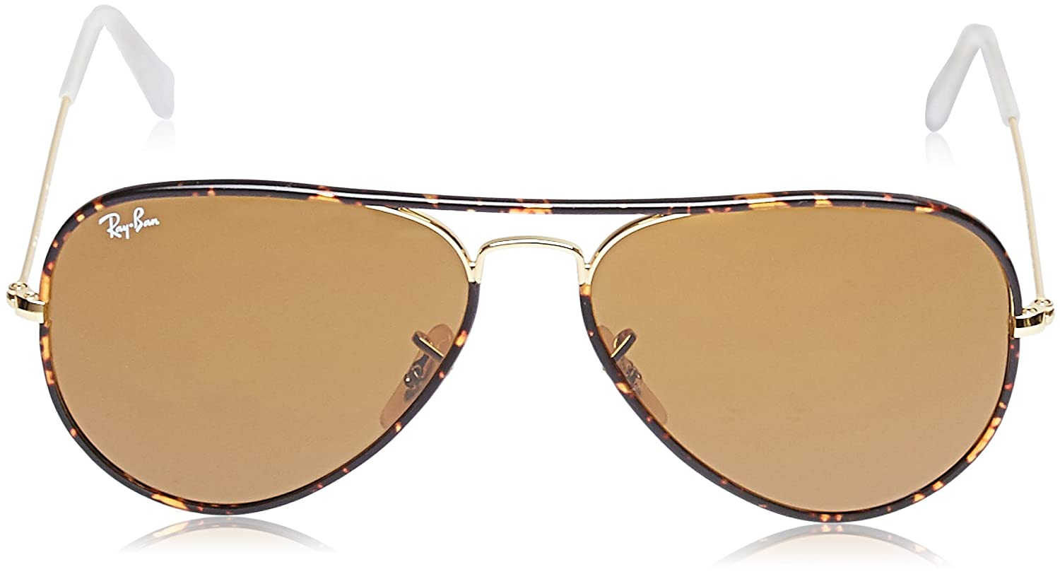 Ray-Ban Aviator Full Color, Gafas de Sol para Hombre, Arista, 58: Amazon.es: Ropa y accesorios