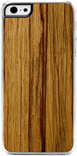 product image for CARVED Wood Clear Case for iPhone 5 - Black Limba (I5-CC1N)