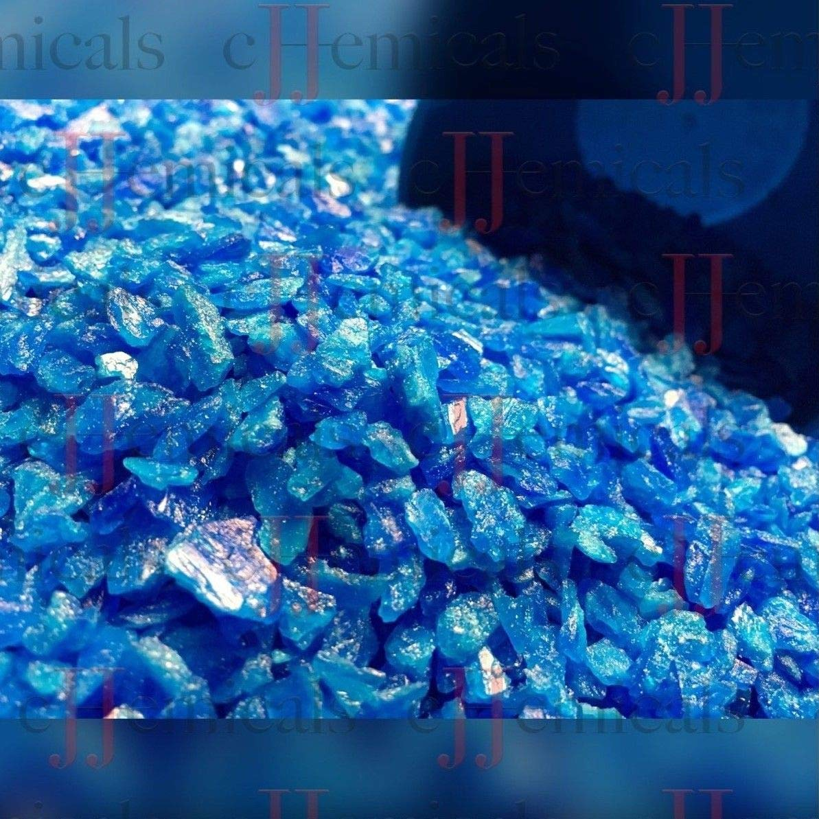 Copper Sulfate Small Crystals 99.8% Minimum Purity! 2 pounds