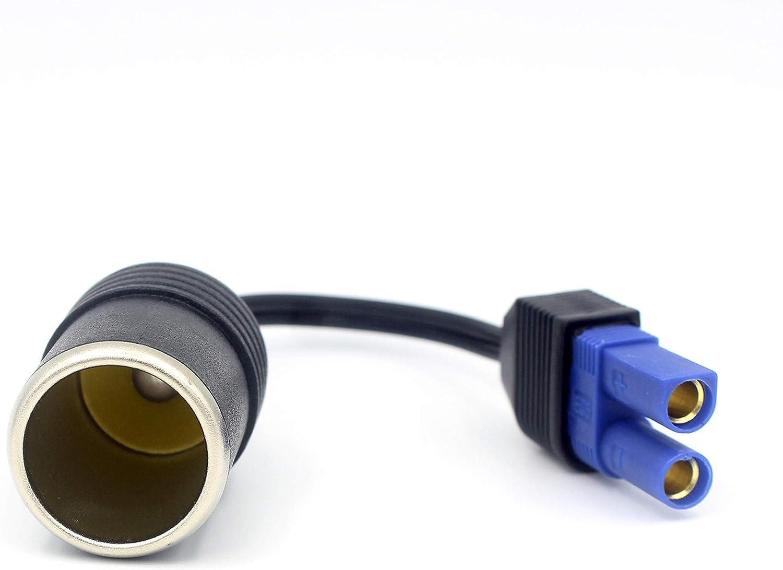 LoongGate EC5 encendedor de cigarrillos cable adaptador de enchufe para EC5 mini coche bater/ía Booster EC5 mini coche Jump Starter