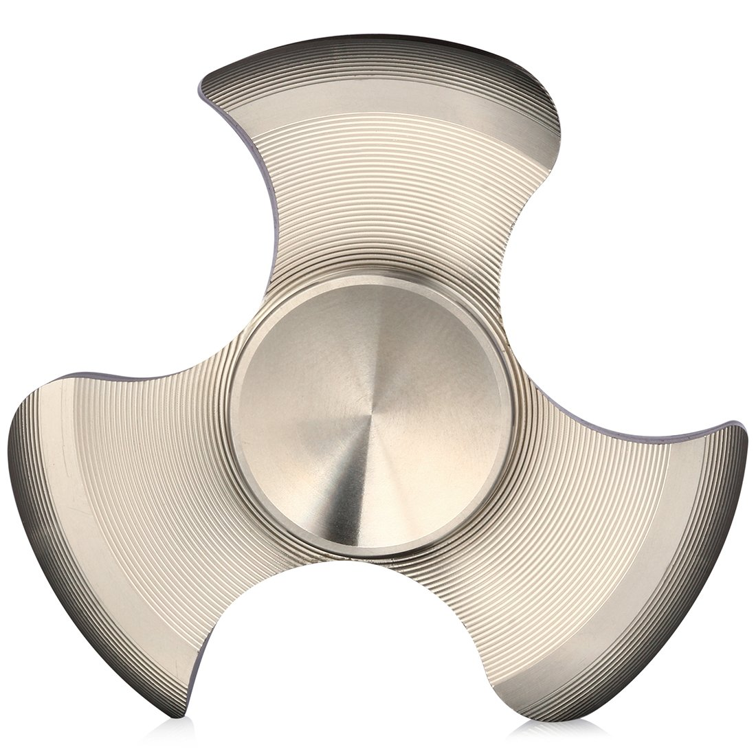 ILoveFidget Hand Spinner up to 6 minutes spin time fine solid Stainless Steel Fidget Spinner with premium finish R188 bearing for smooth fast silent spinning. Stress Relief EDC toy Tri Bar