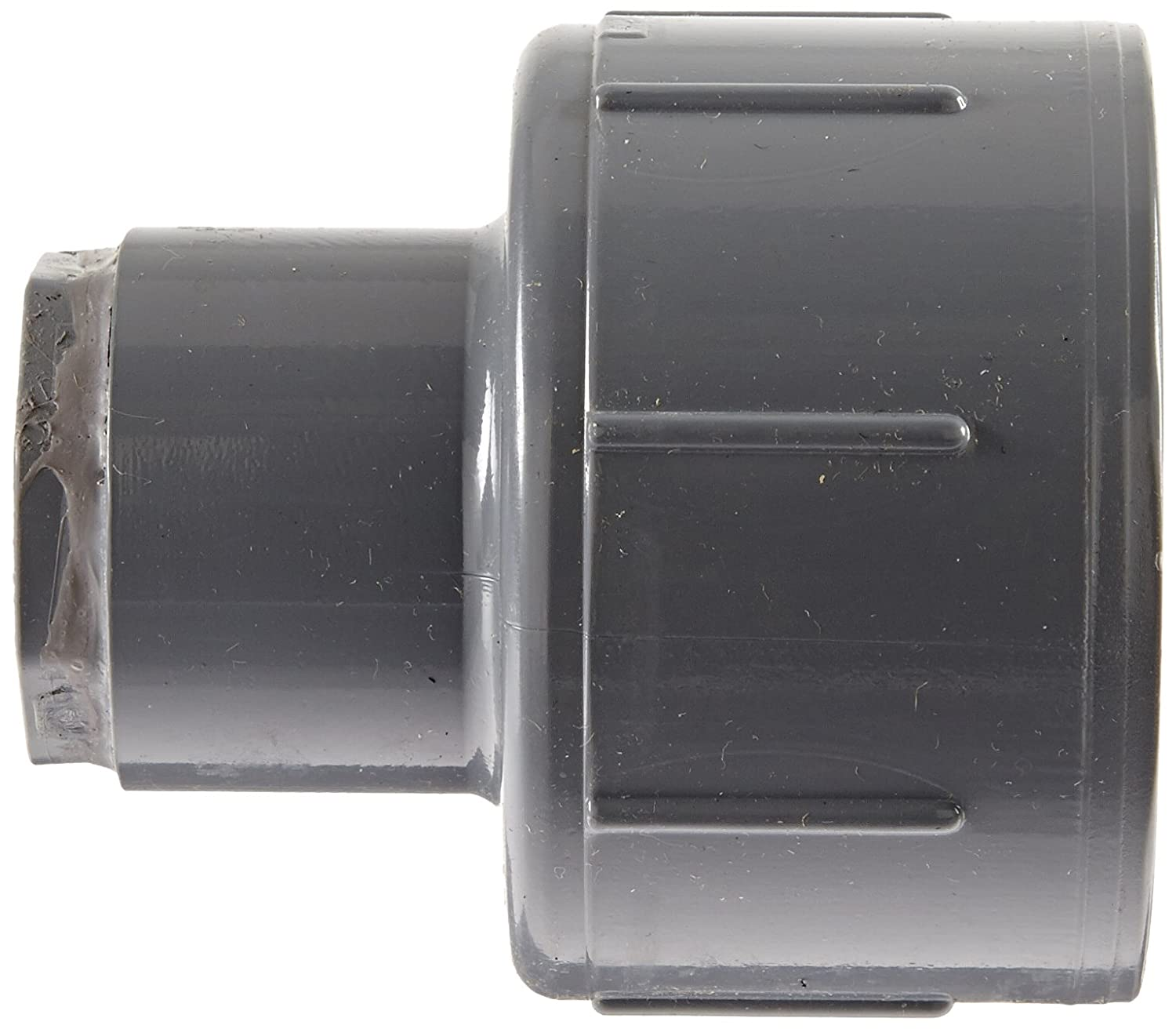 Schedule 80 GF Piping Systems CPVC Pipe Fitting 1-1//2 Slip Socket 1-1//2 Slip Socket 9829-015 Gray Coupling